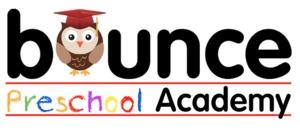 Bounce Preschool Academy logo _red hat owl_ 3 2